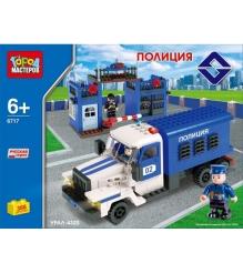 Детский Конструктор Город Мастеров Полиция BB-6717-R