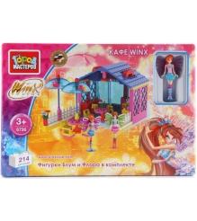 Детский конструктор Город Мастеров Winx Кафе BB-6726-R...