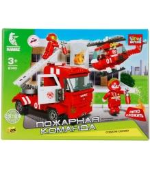 Детский конструктор Город Мастеров Пожарная Команда BB-6740-R