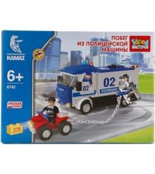 Детский конструктор Город Мастеров Побег из Полицейской Машины BB-6742-R...