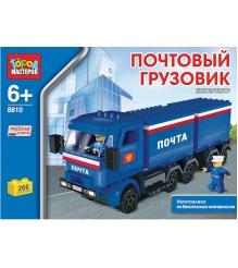 Детский конструктор Город Мастеров Почтовый Грузовик Камаз BB-8810-R
