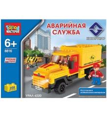 Детский конструктор Город Мастеров Аварийная Служба Урал BB-8816-R1