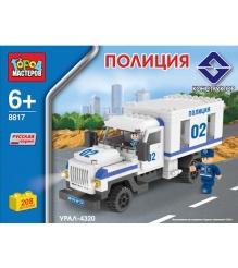 Детский конструктор Город Мастеров Полиция Урал BB-8817-R2...