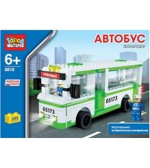 Детский конструктор Город Мастеров Автобус BB-8819-R