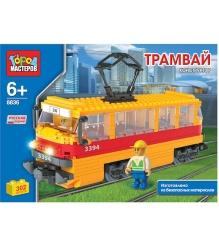 Детский конструктор Город Мастеров Трамвай BB-8836-R