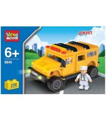 Детский конструктор Город Мастеров Джип BB-8845-R...