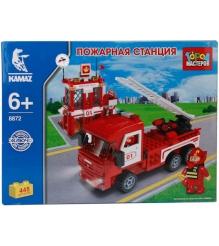 Детский конструктор Город Мастеров Пожарная Станция BB-8872-R1