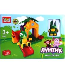 Детский конструктор Город Мастеров Лунтик и его друзья Кузя BB-8882-R