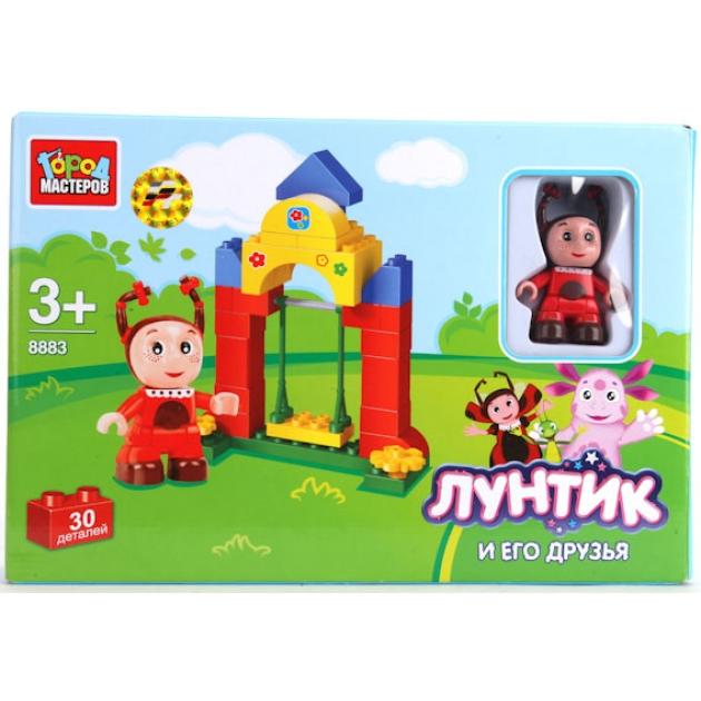 Детский конструктор Город Мастеров Лунтик и его друзья Мила BB-8883-R