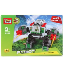 Детский конструктор Город Мастеров Робот BB-8889-R...