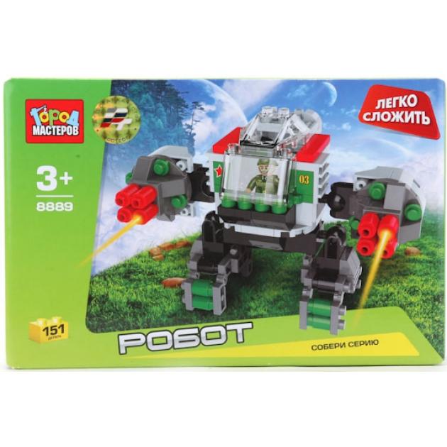 Детский конструктор Город Мастеров Робот BB-8889-R