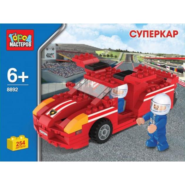 Детский конструктор Город Мастеров Суперкар BB-8892-R