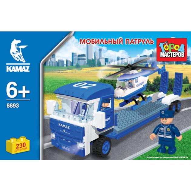 Детский конструктор Город Мастеров Мобильный Патруль BB-8893-R
