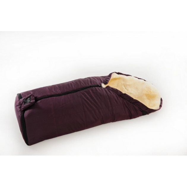 Меховой конверт Kaiser Iglu Aktion Pflaume фиолетовый 6843