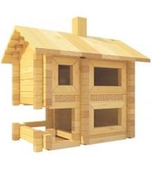 Конструктор Лесовичок Разборный домик №2 набор из 130 деталей les 002