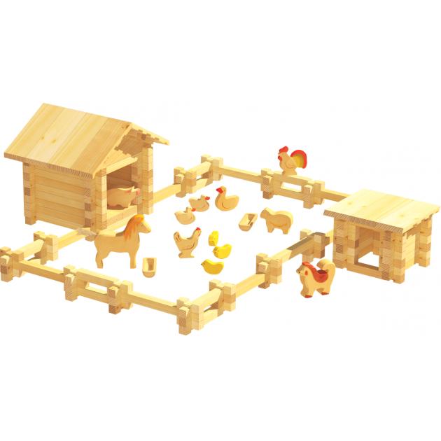 Конструктор Лесовичок Солнечная ферма №2 набор из 180 деталей les 013