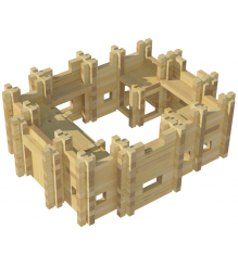 Конструктор Лесовичок Крепость №2 набор из 405 деталей les 018