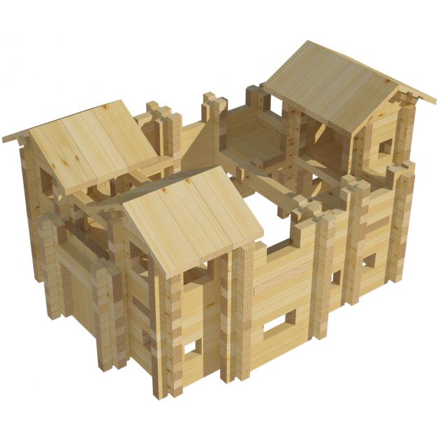 Конструктор Лесовичок Крепость №3 набор из 521 деталей les 019