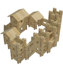 Конструктор Лесовичок Крепость №5 набор из 823 деталей les 021...