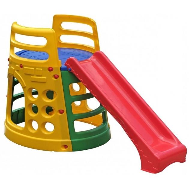 Горка детская пластиковая Башня 377 Marian Plast