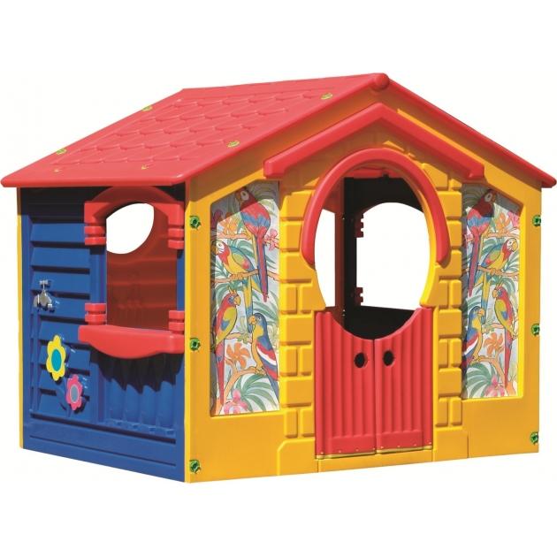 Детский домик Marian Plast коттедж 560