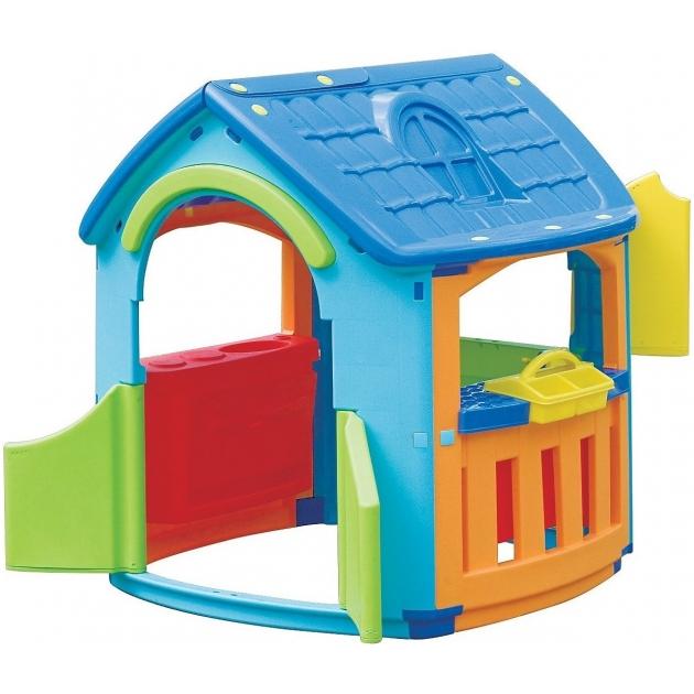 Детский домик Marian Plast кухня+гараж 665