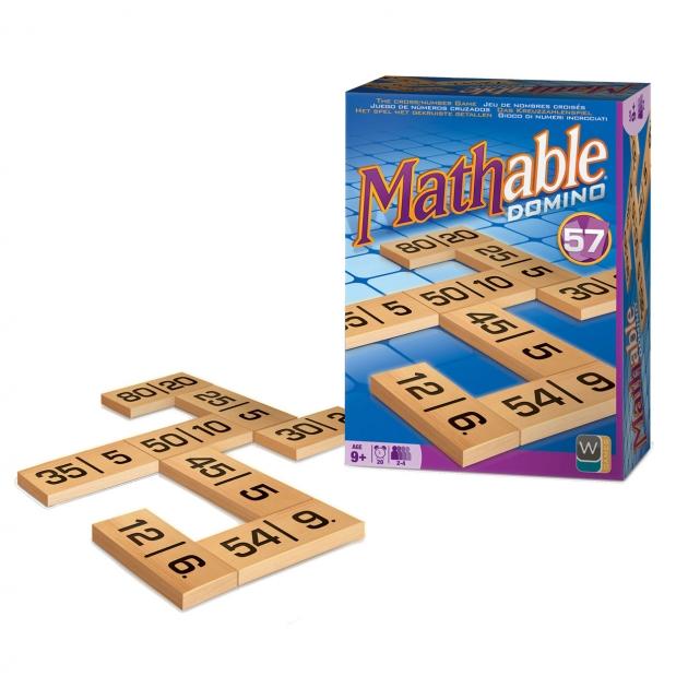 Настольная игра Mathable Математическое Домино 5002