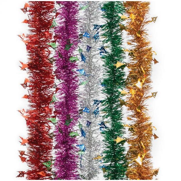 Мишура новогодняя Peneri с декором Елочка длиной 2 м М12080000