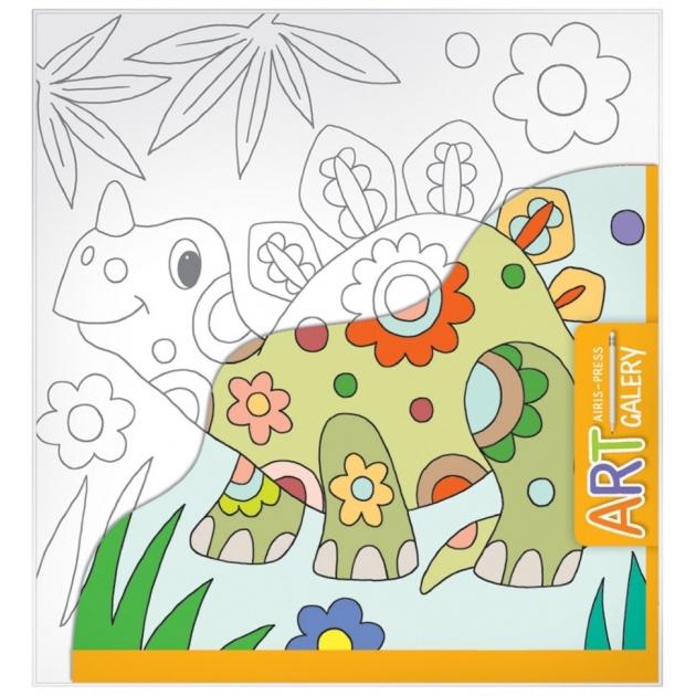 Набор для творчества Айрис - пресс АРТ Динозавр маленький 65497