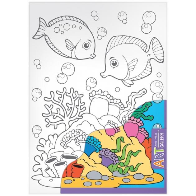 Набор для творчества Айрис - пресс АРТ Морское дно средний 66029