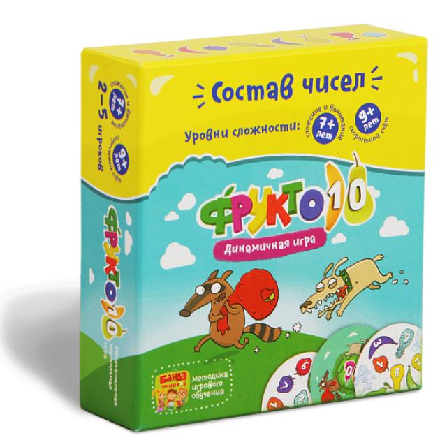 Логическая игра Банда Умников фрукто 10 артикул УМ002