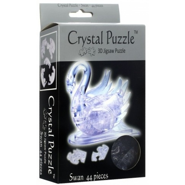 Игра головоломка Crystal puzzle лебедь артикул 90001