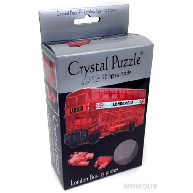 Игра головоломка Crystal puzzle лондонский автобус артикул 90129