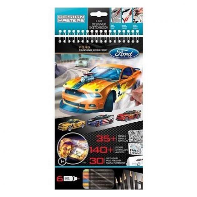 Блокнот для творчества Ford Mustang Design Masters 7112