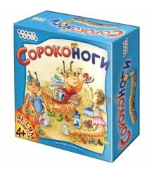 Настольная игра для всей семьи Hobby World Сороконоги 1345...
