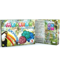 Набор для мыловарения Инновации для детей мыльная мастерская джунгли 742