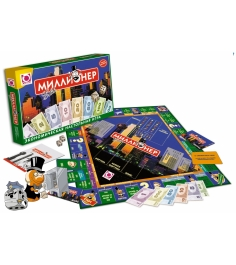 Монополия для детей Origami миллионер элит артикул 00111