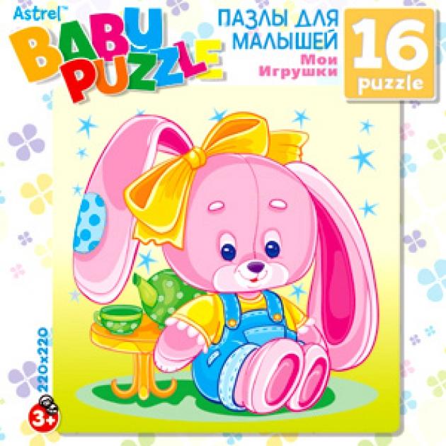 Пазлы для малышей Origami дм зайчик 16 эл артикул 6247