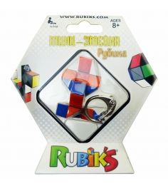 Кубик рубика Рубикс брелок змейка 24 элемента арти...