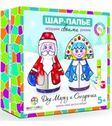 Набор для творчества Шар Папье Дед Мороз и Снегурочка В0160611...