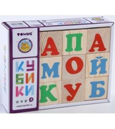 Развивающие кубики Томик Алфавит русский 1111-1...