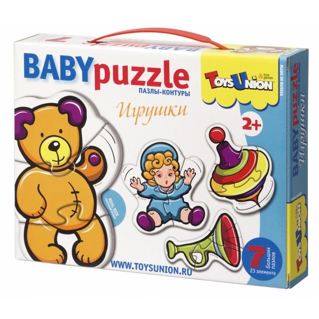 Пазлы для малышей Toysunion игрушки артикул 00-607
