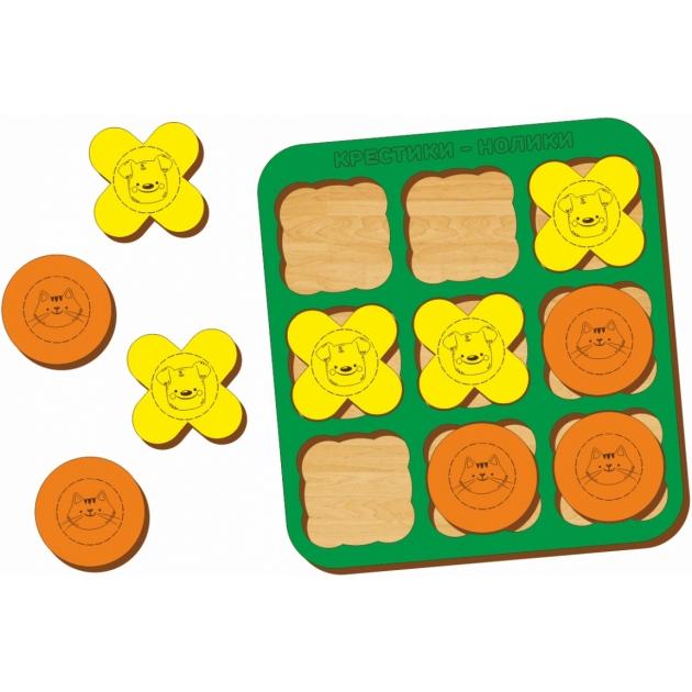 Логическая игра Woodland Крестики-нолики 3 66103