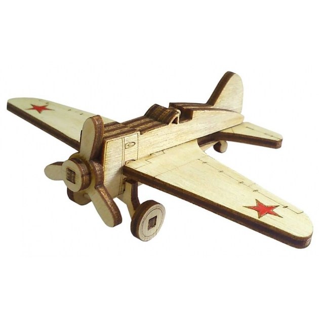 Сборная модель Lemmo Советский истребитель И-16