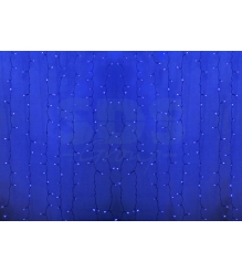 Новогодняя гирлянда дождь Led Neon Night, 2х1,5м, провод silicon, цвет синий 235...