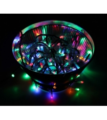 Новогодняя гирлянда Neon-night Твинкл Лайт светодиодная разноцветная 20м 200 дио...