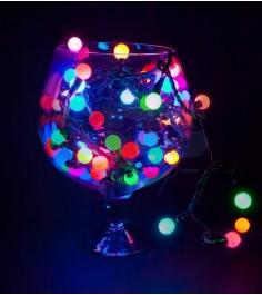 Новогодняя гирлянда Neon-night Мультишарики LED, м...