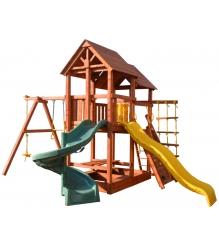Детская площадка PlayGarden skyfort spiral стандарт со спиральной горкой...