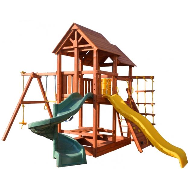 Детская площадка PlayGarden skyfort spiral стандарт со спиральной горкой