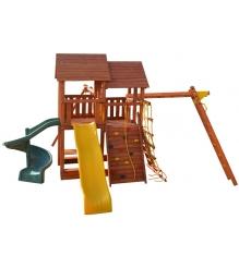 Детская площадка PlayGarden skyfort2 стандарт со спиральной горкой и рукоходом...